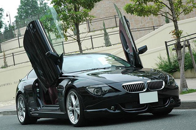BMW M6 et 645CSI GullWing Doors by Curve Auto Design