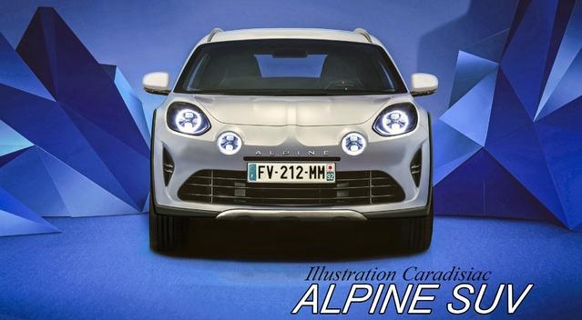 Alpine: un SUV en 2020?