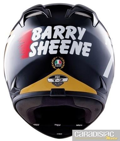 Barry Sheene à l'honneur chez AGV : T-2 Replica.