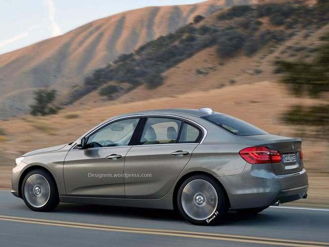 Un graphiste imagine la future BMW Série 1 berline traction