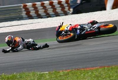 "Moto GP - Pedrosa: ""C'est une mauvaise chute"""