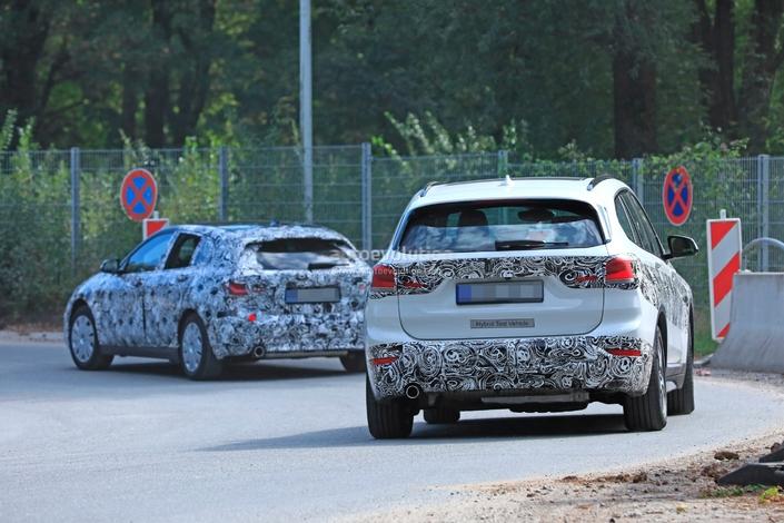 Le BMW X1 hybride en préparation