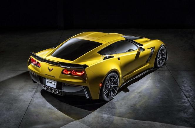 Détroit 2014 - La nouvelle Corvette Z06 en fuite