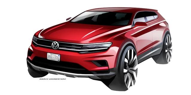 Volkswagen: le Tiguan 7 places se nommera Allspace