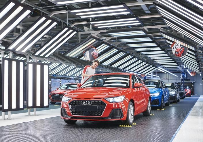 La production espagnole de l'Audi A1 est lancée