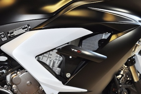 Top Block Racing s'occupe de la Kawasaki ZX-6R 636 (2013)