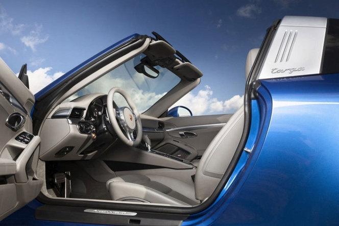 Detroit 2014 : la Porsche 911 Targa s'échappe pour de vrai