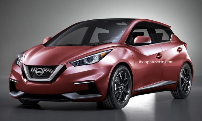 Future Nissan Micra/Sway : comme ça ?