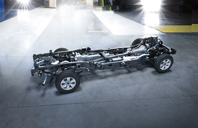 Ford dévoile le nouveau F150 : 317 kg et le V8 6.2 en moins