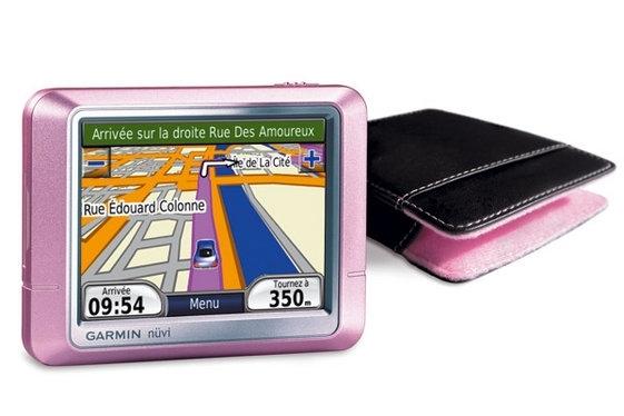 GPS Spécial St Valentin : Garmin Nüvi Pink