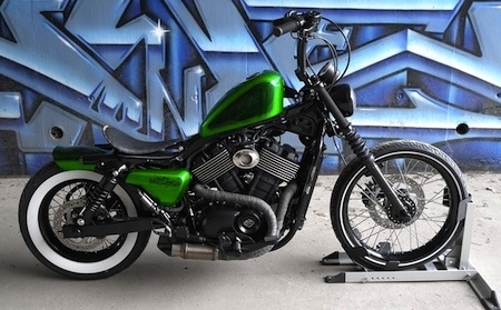 "Harley-Davidson ""Battle of the Kings"" : la Street 750 made in S-One en finale"