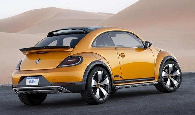 Detroit 2014 : le concept VW Coccinelle Dune se montre