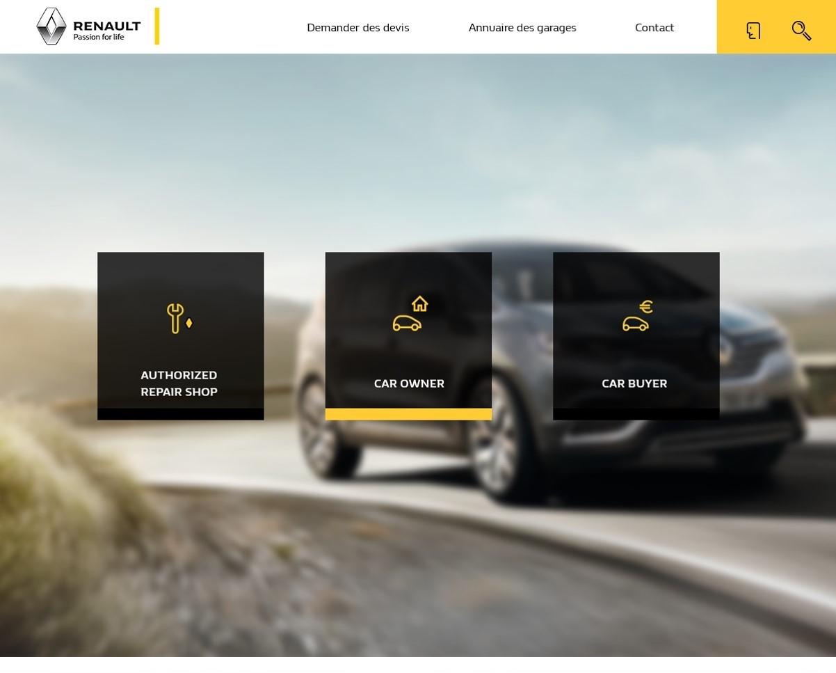 Renault, en route vers le carnet d'entretien numérique
