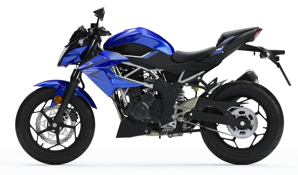 Kawasaki Prix Et Disponibilités Des Z125 Et Ninja 125