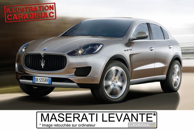 Le 4x4 Maserati arrive en 2014 !
