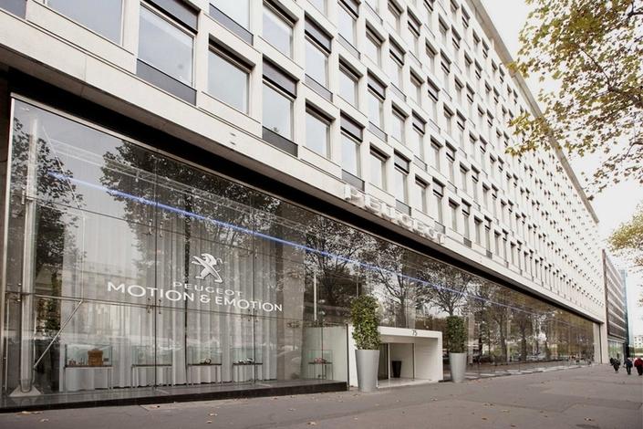 2017 - Le siège de PSA, 75 avenue de la Grande Armée à Paris