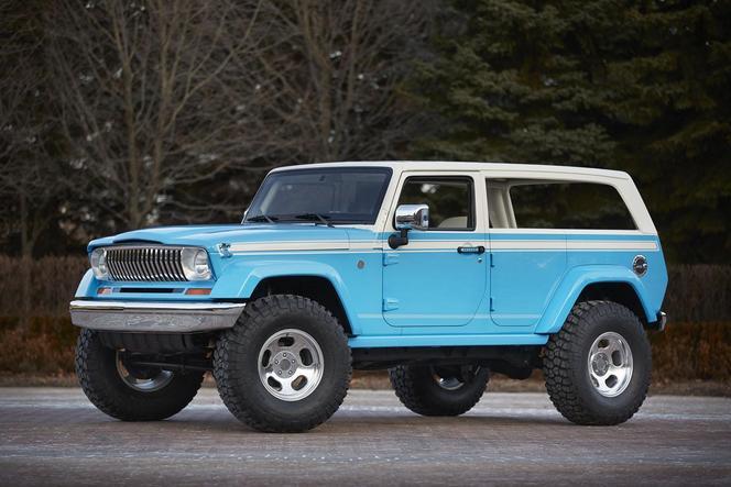 Jeep dévoile 7 concepts pour le Easter Jeep Safari 2015