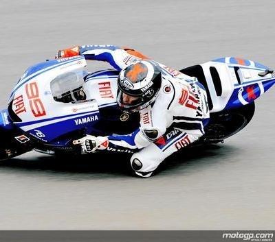 Moto GP - République Tchèque D.1: Lorenzo déjà au record