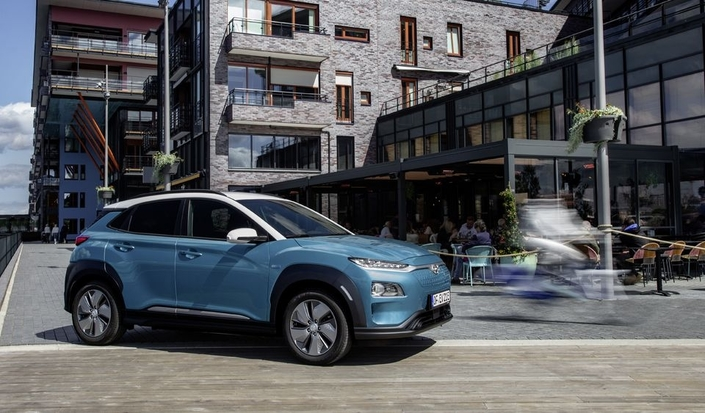 le hyundai kona ev arrive en concession le grand voyageur. Black Bedroom Furniture Sets. Home Design Ideas
