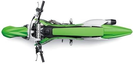 Kawasaki KX 450F (2016): chasse au poids! (vidéo)