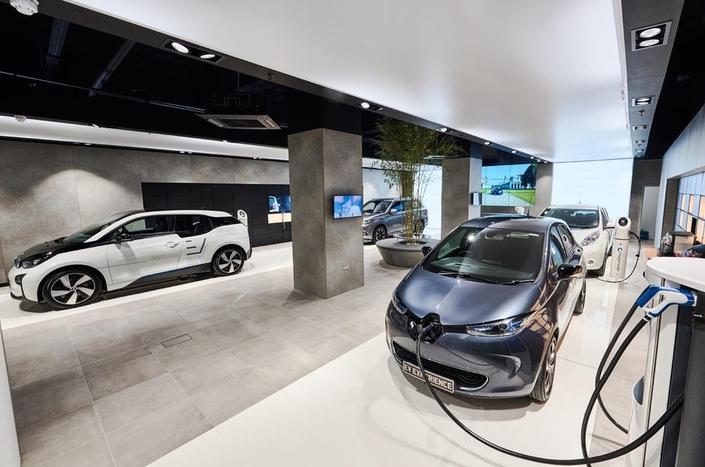 En Angleterre, une concession dédiée aux voitures électriques