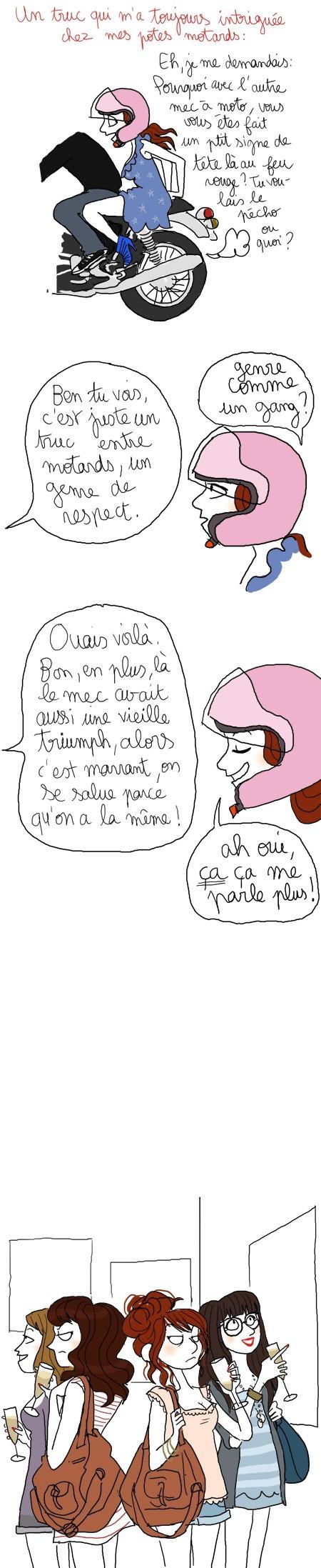 Le coin des filles : le clin d'oeil de Pénélope Bagieu