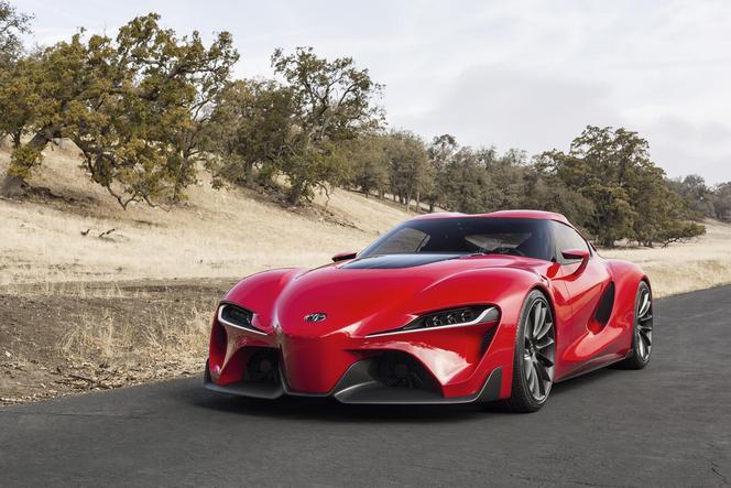 Detroit 2014  : concept Toyota FT-1, future Supra ?