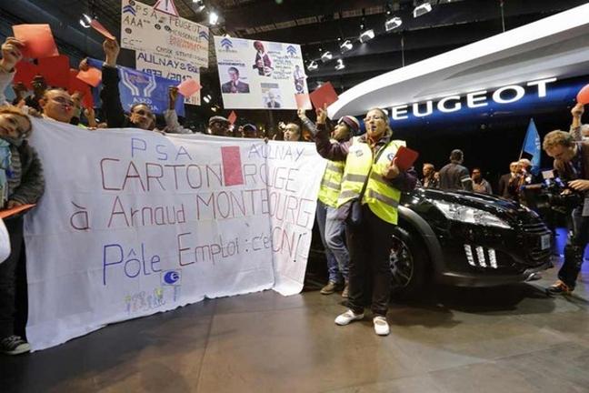 Live - Manifestations au Mondial de l'automobile : les concept-cars disparaissent des stands