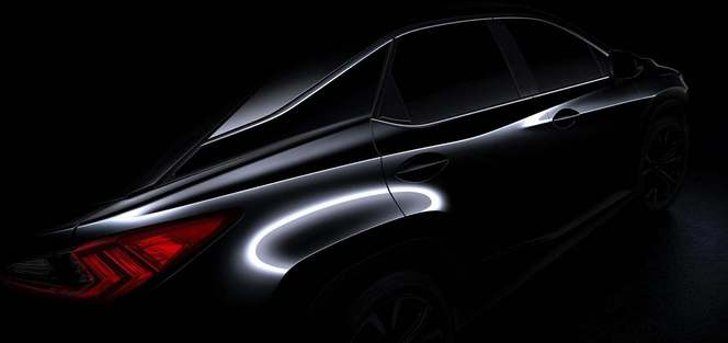 [vidéo] New York 2015 : Lexus tease son nouveau SUV RX