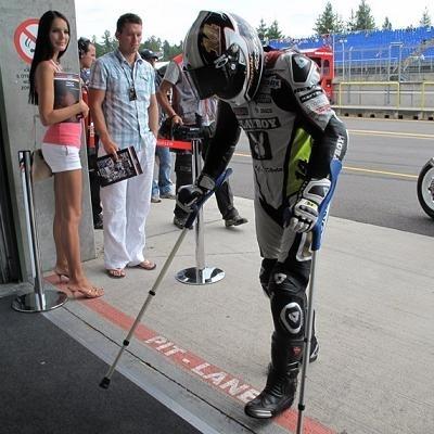 Moto GP - République Tchèque D.1: Tenir avant de courir
