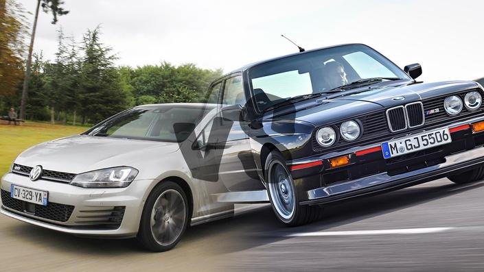 Les duels de l'été : VolkswagenGolf GTD vs BMW M3 E30Sport Evolution