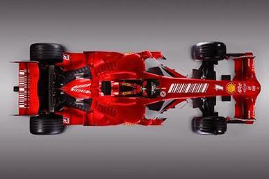 Formule 1 - Ferrari: Et voilà la F2008 !