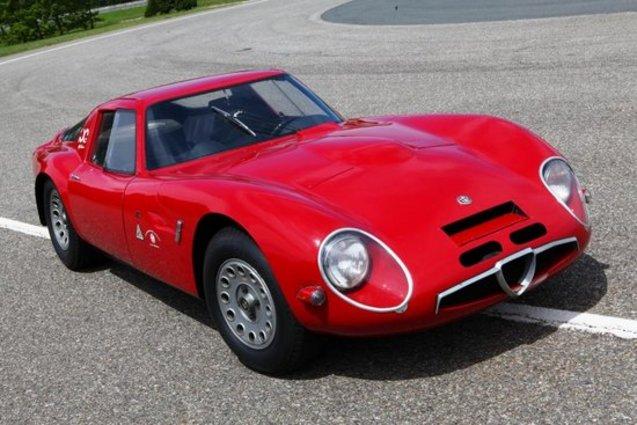 Rétromobile 2014 : deux raretés signées Alfa Romeo à retrouver