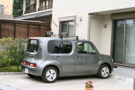 Nissan Cube heel vreemd ...