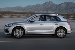 Sur la balance, le Q5 a perdu jusqu'à 90kg. En option, Audi proposera des jantes de 21 pouces.