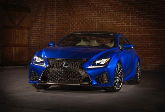 Detroit 2014 : la Lexus RC-F, c'est du sérieux