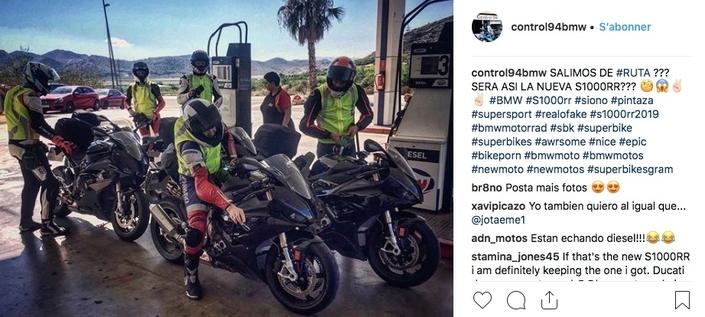 Photos volées: la BMW S1000 RR se fait épingler