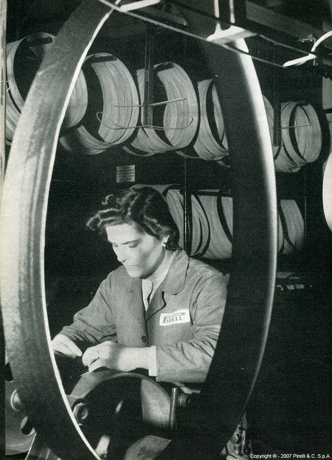 Pirelli: 140 ans déjà