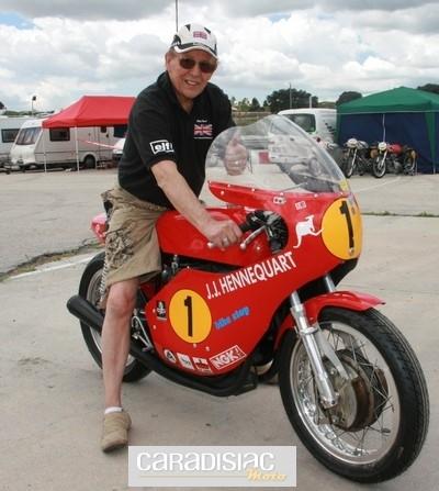 Classic Moto à Jarama : ça commençait pourtant bien !!!...