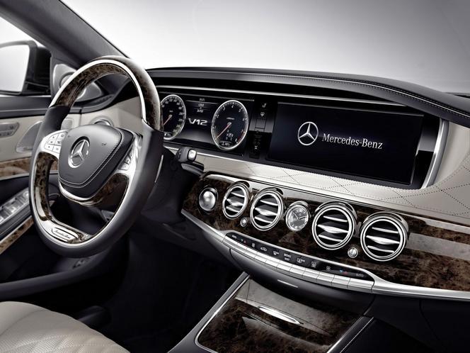 Salon de Détroit 2014 - Nouvelle Mercedes S600: summun en sursis