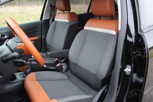 Le confort est du en partie aux excellents sièges.