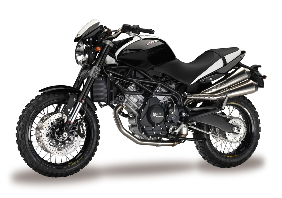 Moto Morini : Scrambler et Sport 1200 cm3, les photos officielles