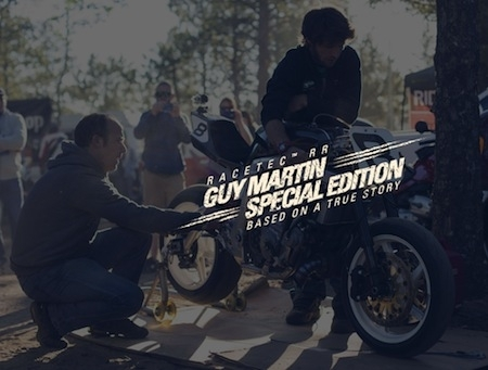 Metzeler Racetec™ RR : une édition spéciale Guy Martin