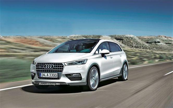 Futur Audi A3 monospace : comme ça ?