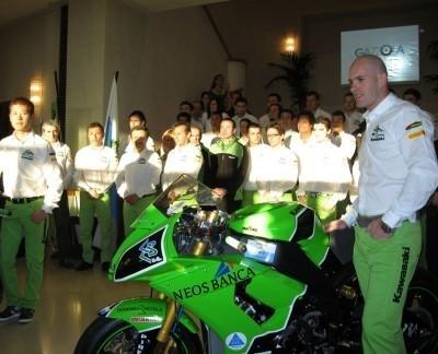 Superbike - Kawasaki: La nouvelle moto de Régis
