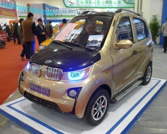 Jinma JMW2200 : une électrique chinoise au look très allemand