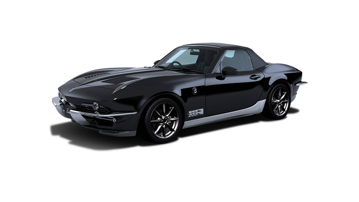 Un constructeur japonais transforme la Mazda MX-5 en Corvette C2