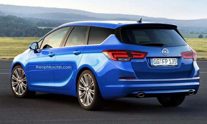 Futur break Opel Astra Sports Tourer : comme ça ?
