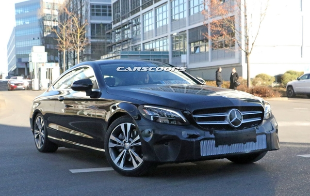 Mercedes prépare un repoudrage pour la Classe C Coupé