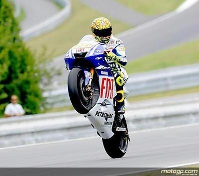 Moto GP - République Tchèque: Rossi était prêt à en découdre